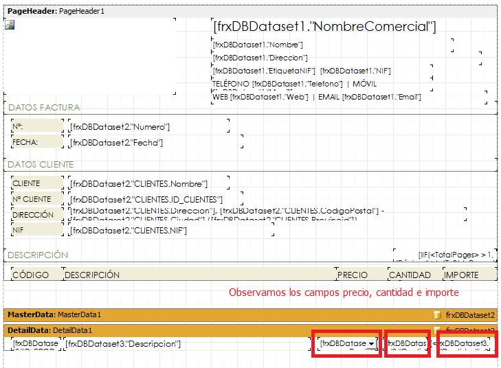 Mostrar más decimales en el precio en el diseño de factura. Parte 1.